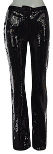 BCBGMAXAZRIA Womens Casual 0 Sequined Party Trousers Pants