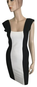 BCBGMAXAZRIA short dress Black White on Tradesy