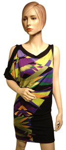 BCBGMAXAZRIA short dress Bright Multi Color on Tradesy