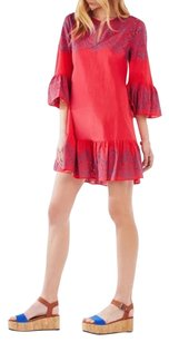 BCBGMAXAZRIA short dress Red Berry Combo on Tradesy