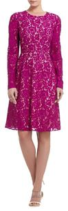 BCBGMAXAZRIA Lace Floral Dress
