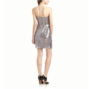 BCBGMAXAZRIA Sequin Sparkle Strapless Dress