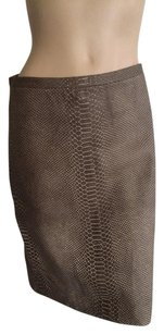 BCBGMAXAZRIA Skirt Brown Cream