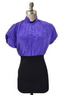 BCBGMAXAZRIA Bcbg Max Azria Top Purple Black