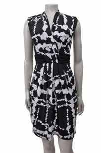 BCBGMAXAZRIA Bcbg Maxazria Black White Dress