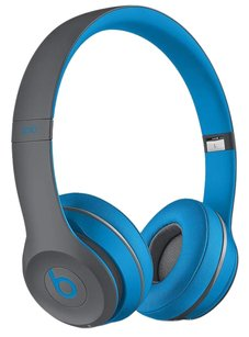 Beats By Dre Beats By. Dre Solo2 Active Collection Flash Blue Headphones