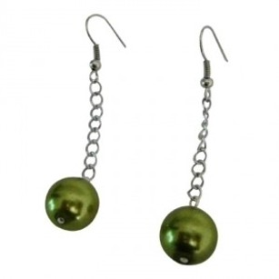 Green Unique Design Charming All Occasions Earrings