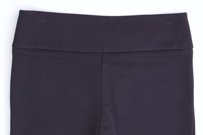 bebe Faux Leather Spandex Stretchy Tapered Skinny Pants Black