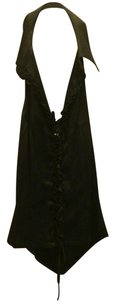 bebe Black Halter Top