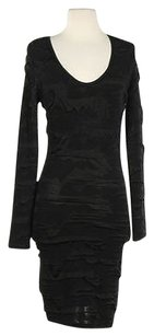 bebe Womens Sheath Med Formal Party Mini Dress
