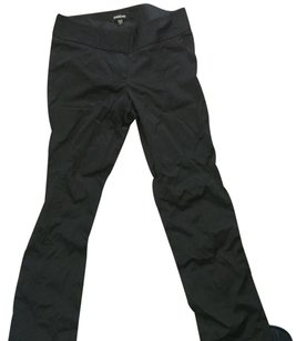 bebe Straight Pants black