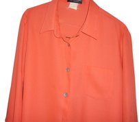 Benard Holtzman Top Orange