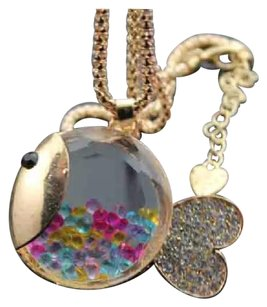 Betsey Johnson Adorable Betsey Johnson Fishy w/ colorful floating crystals