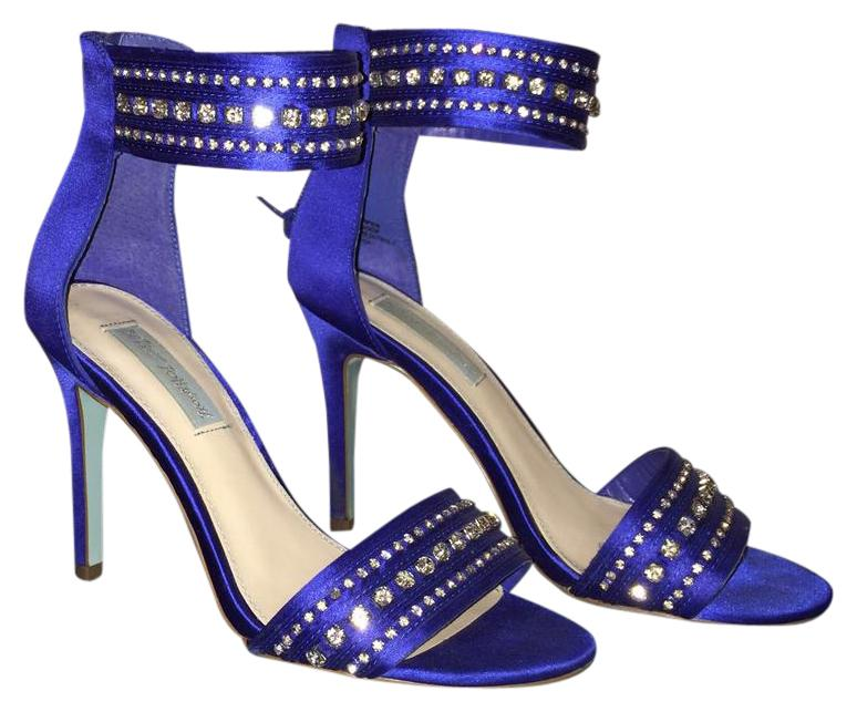 Betsey Johnson Royal Blue By 7 Formal Shoes Size US 7 By Regular (M, B) 353f67