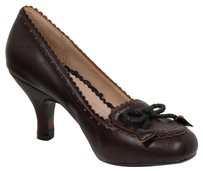 Bettie Page Brown Pumps