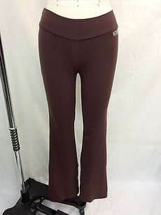 Bia Brazil Bia Brazil Brown Two Back Pocket Stretch Yoga Pants