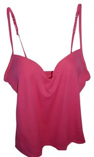 Biatta Intimates Nylon Bright Colorful Undergarment T-shirt Top pink