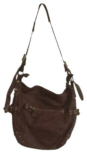 Bica Cheia Satchel in Brown