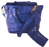 Big Buddha Jimmy Tote in Blue