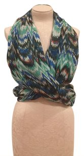Bindya New York Lulla Collection Zizag Infinity Scarf