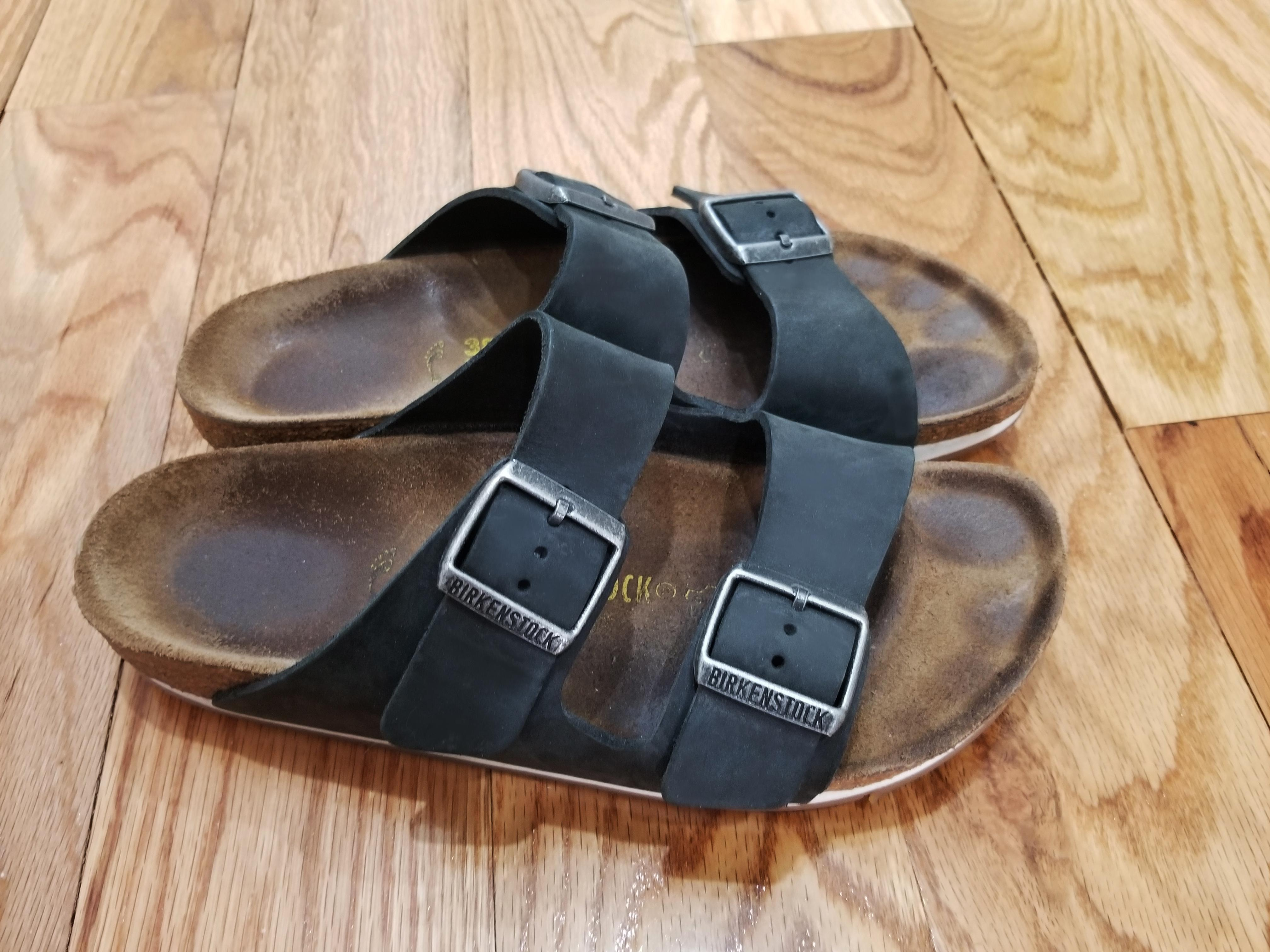 603e93bdeb6a Brown Birkenstock Sydney Size 7.5 Softmoc Sandals