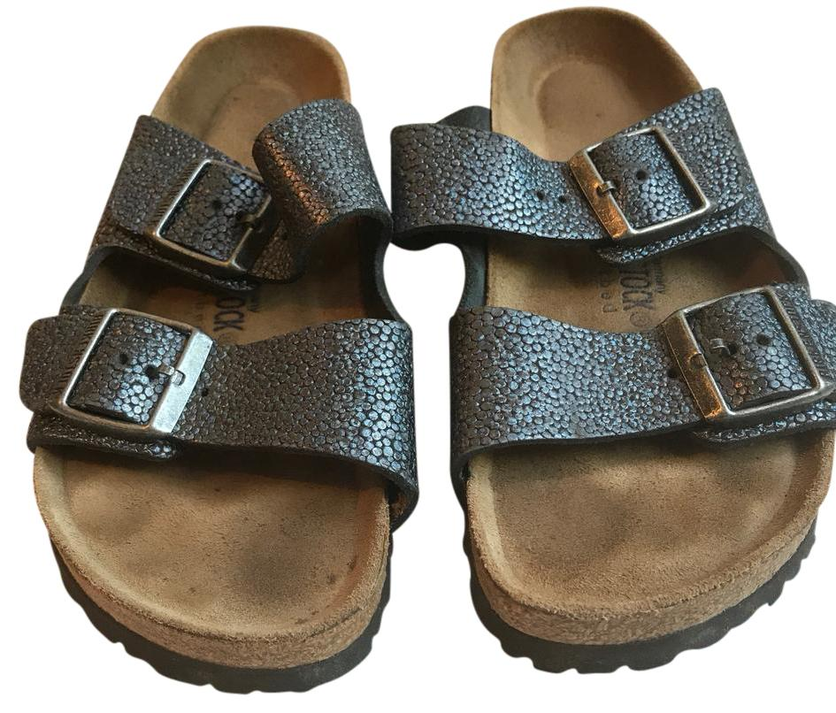 9be6a571a40 Silver Birkenstock Pisa Clearance 3 4 Insoles