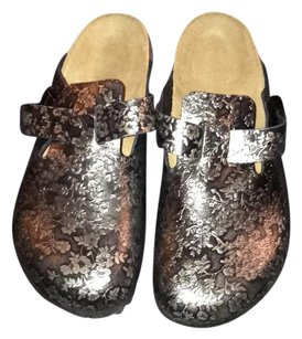 Birkenstock metallic black Sandals