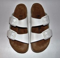 Birkenstock Professional Classic Footbed White Sandals