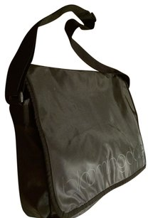 Bloomingdales Black Messenger Bag