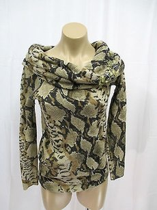 Blumarine Animal Print Sweater