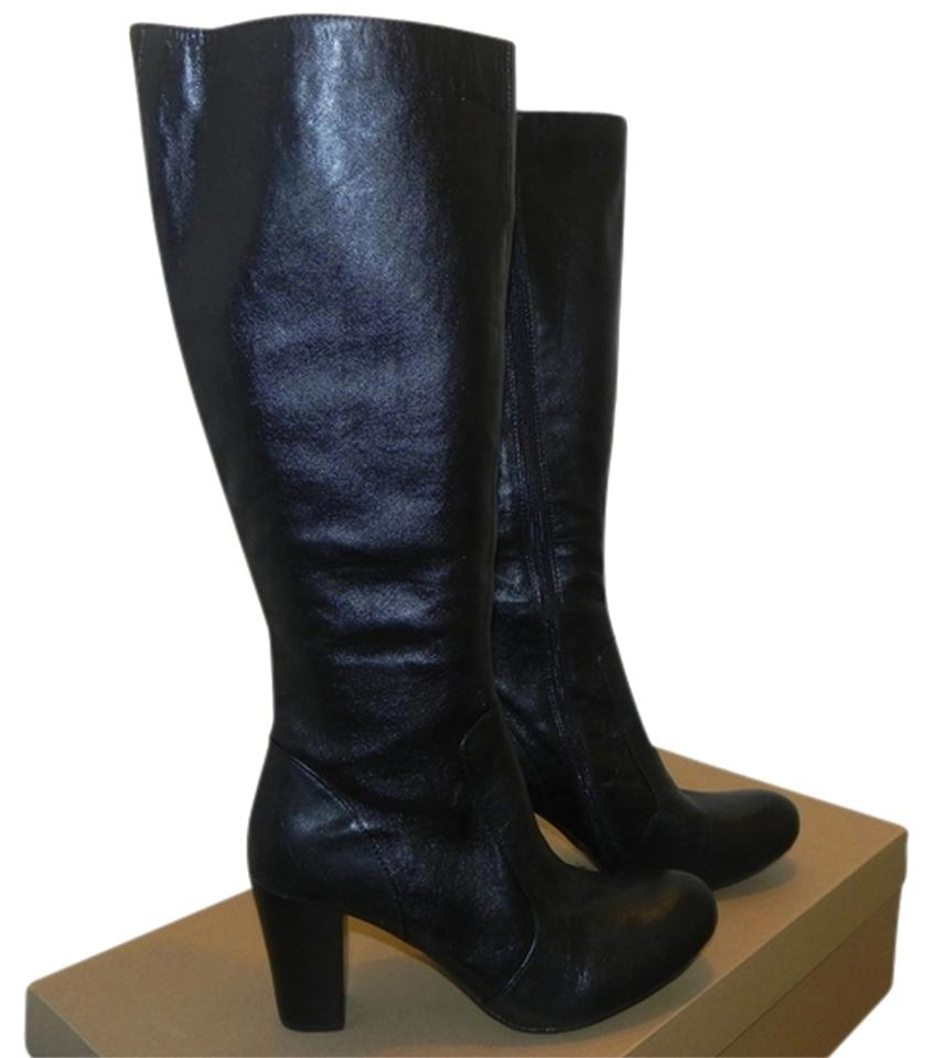 Børn Born Crown Lissa Leather Black Boots on Sale, 52% Off | Boots ...