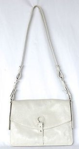 Botkier Cream Embossed Shoulder Bag