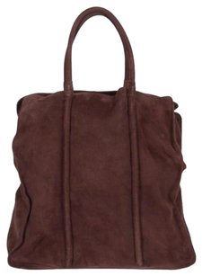 Bottega Veneta Leather Tote in Brown