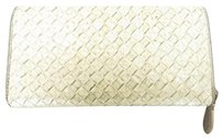 Bottega Veneta BVSL01 Python Zip Around Wallet