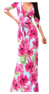 Floral pinks Maxi Dress by Tall Slimming Wedding Party