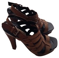 BP Nordstrom Chunky Brown Platforms