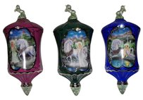 Bradford Exchange Bradford Exchange Victorian Christmas Ornaments Set of 3