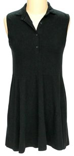Brandy Melville short dress Black Collared Shift on Tradesy