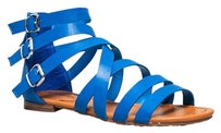 Breckelle's Blue Sandals
