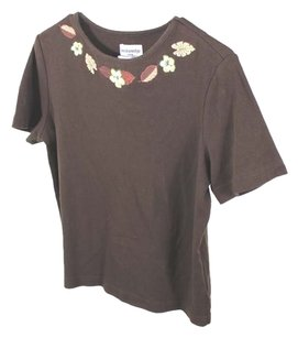 Breckenridge Vintage Size M T Shirt brown