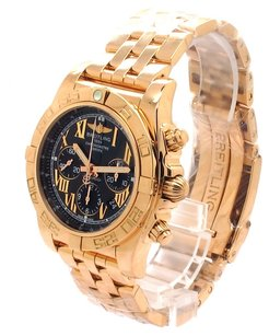 Breitling Breitling Chronomat 44 Chronograph 18K Rose Gold Men's Watch (Brand New)