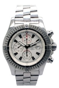 Breitling Breitling Super Avenger Chronograph Stainless Steel White Dial Men's Watch