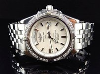 Breitling Mens Breitling A45355 Windrider Headwind Stainless Steel With Diamonds 2 Ct