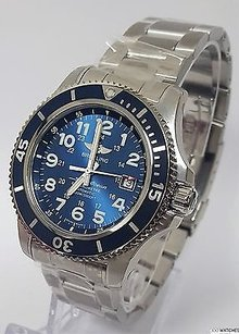 Breitling Mens Superocean Ii A17392d8c910 Stainless Steel Automatic Date Watch
