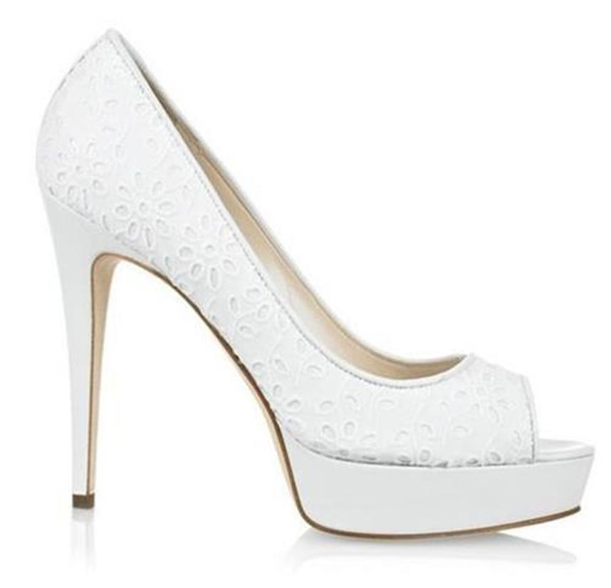 pointed toe pumps - White Brian Atwood 9sEXqDr7