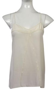 Broadway & Broome Womens Top Ivory White