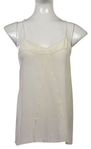 Broadway & Broome Amp Womens Top Ivory White