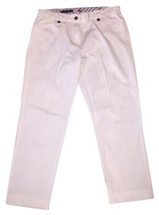 Brooks Brothers Capri/Cropped Pants White