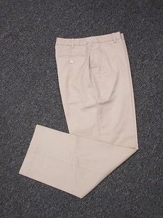 Brooks Brothers Tan Cotton Pants