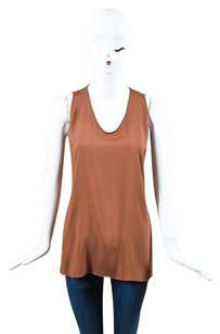 Brunello Cucinelli Silk Top Brown